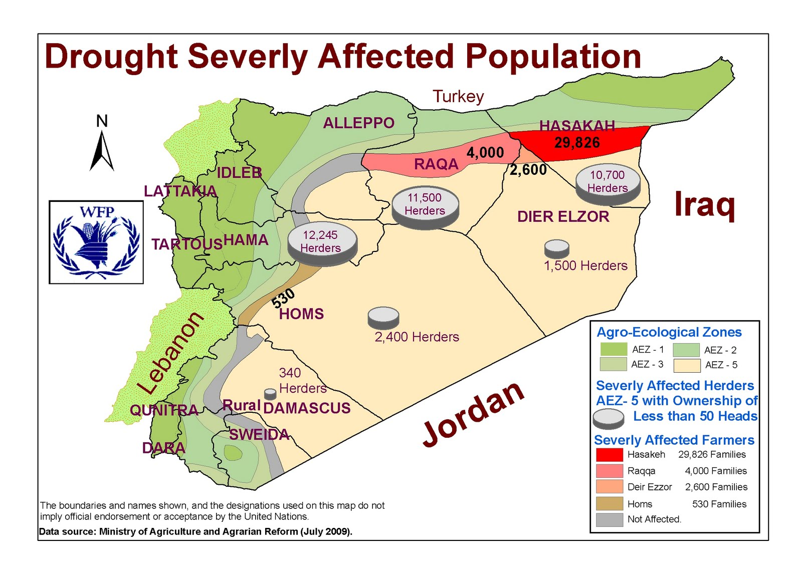 Climate change propelling conflict in syria